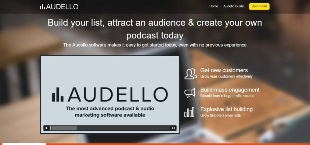 Get Audello and make your podcasting easier than ever.