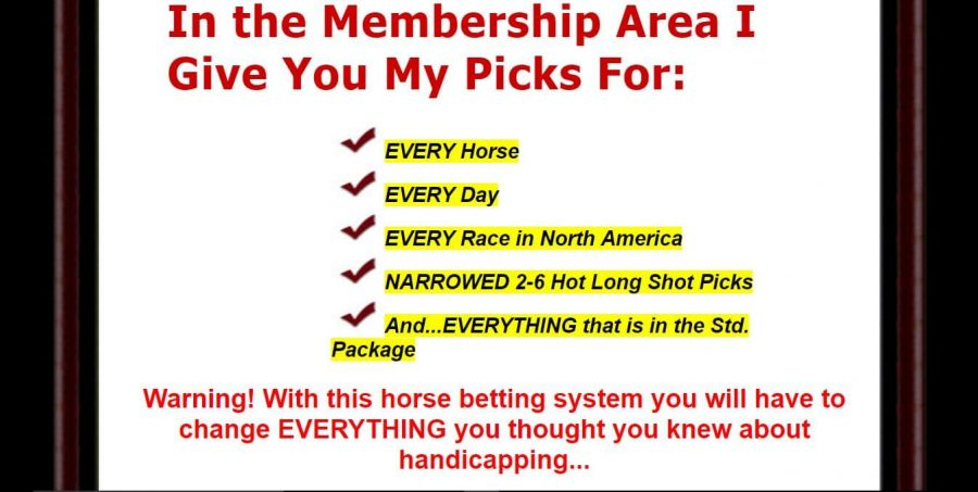 Change your horse betting system with Oldest System On The Planet
