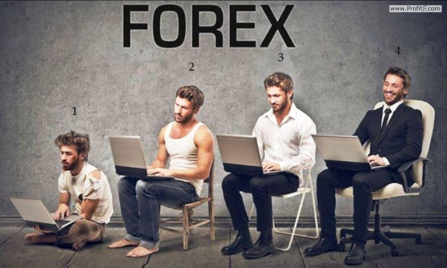A mans success in Forex