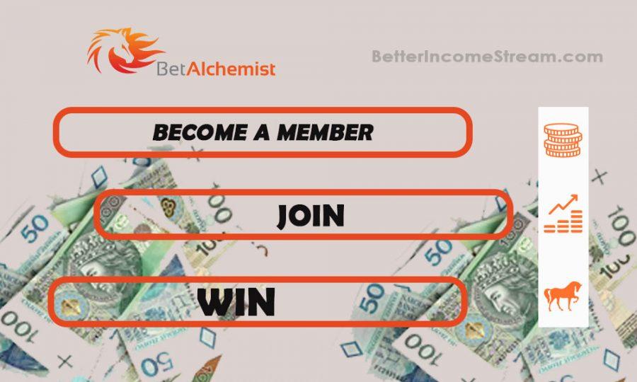 Bet Alchemist Become A Member