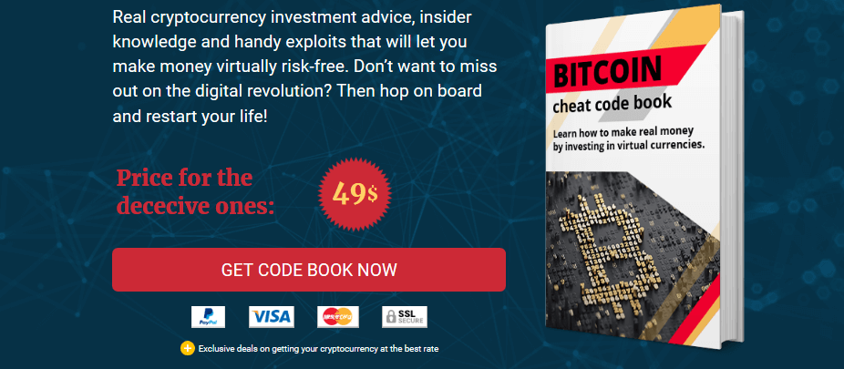Bitcoin Cheat Code Book Image
