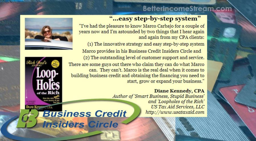 Business Credit Insider Circle Easy Step by Step System