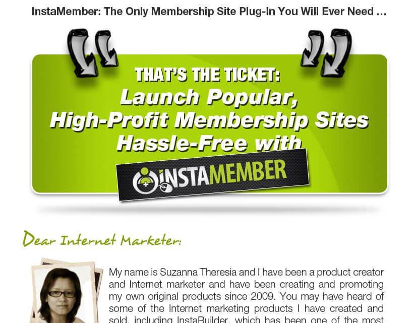 Website of InstaMember