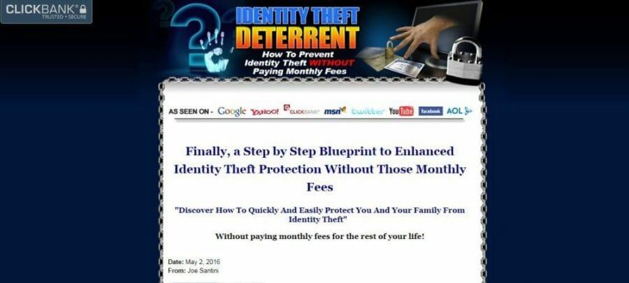 Deter identity thieves.