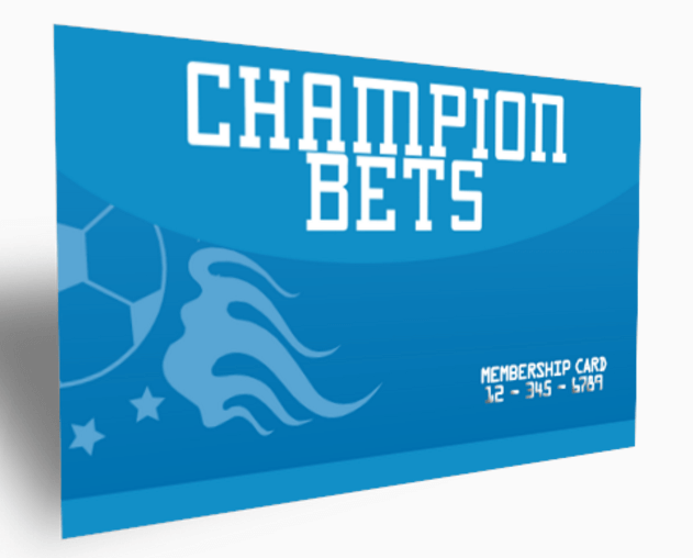Champion Bets Membership Card