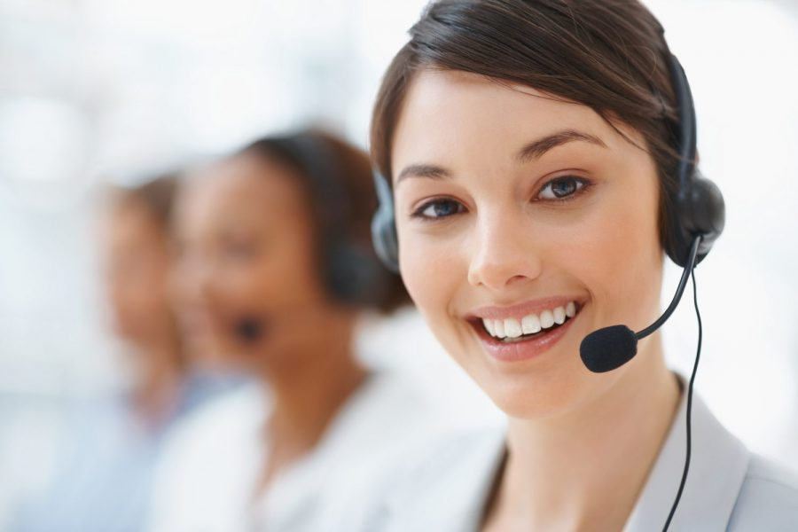 Customer service is ready to serve you