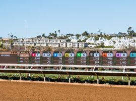 Del Mar thoroughbred horse racing track