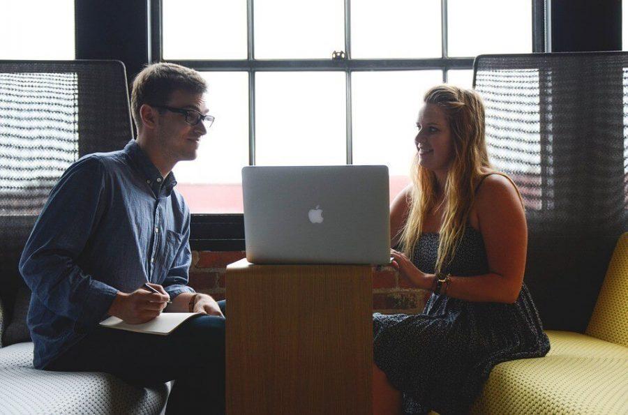 Woman Entrepreneur Man Startup Team Start-up