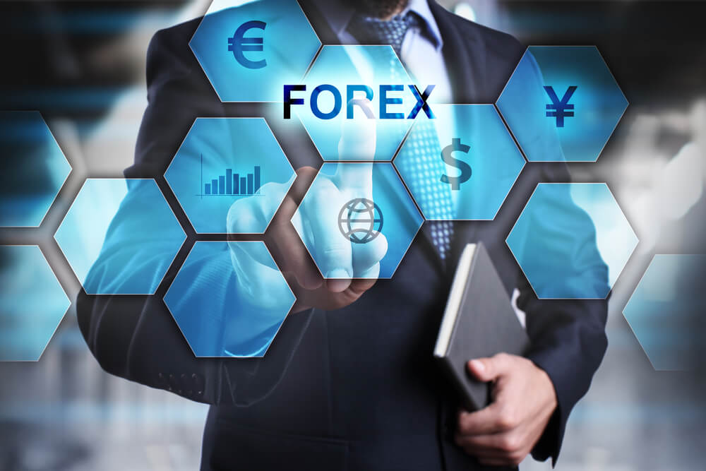 FOREX 5 on the virtual screen