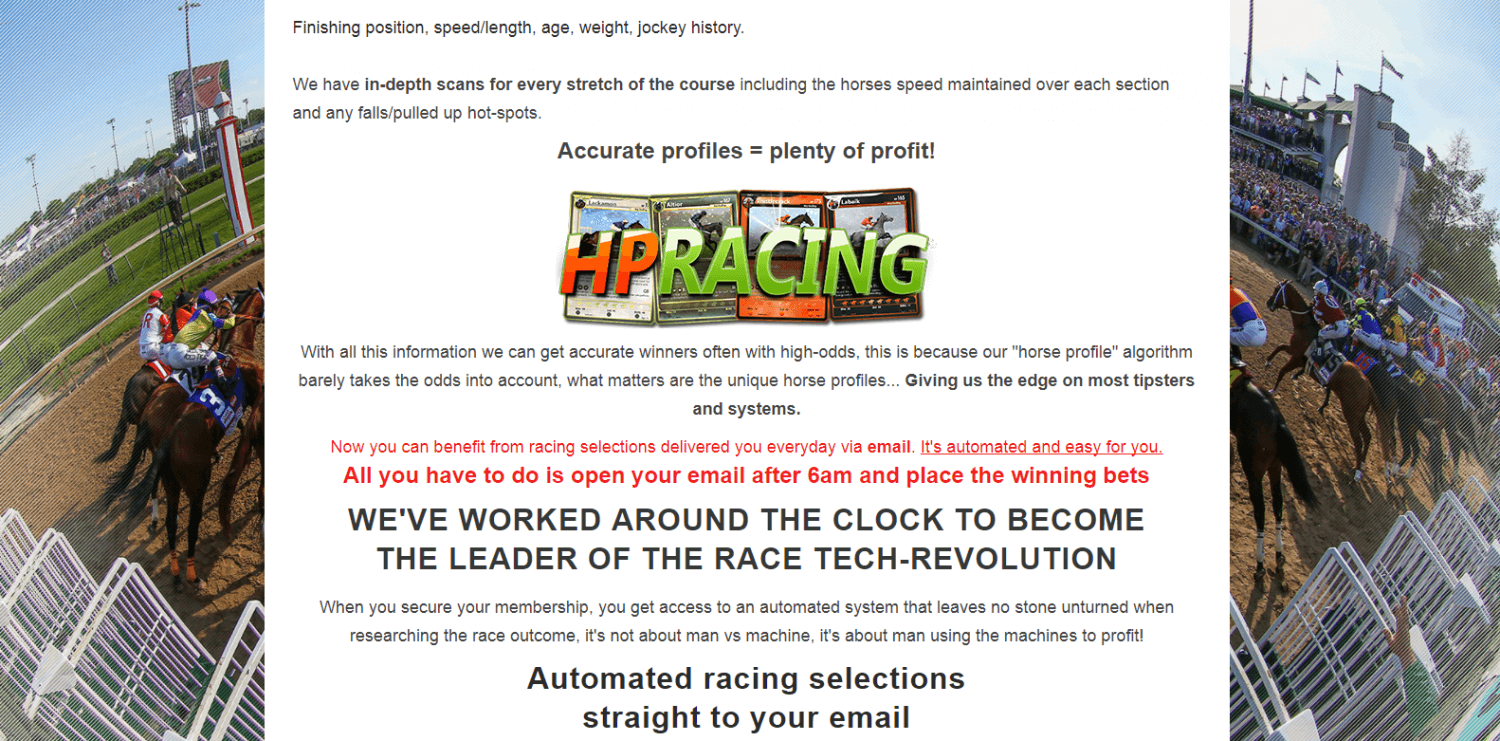 tipster service