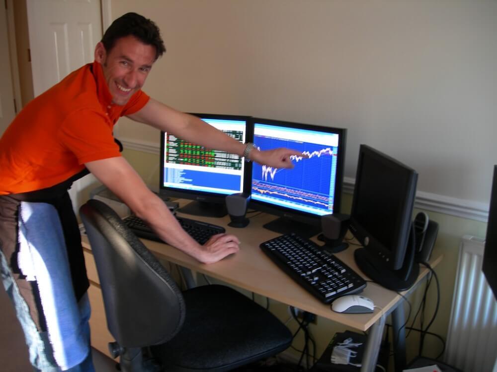 Home stock trading setup