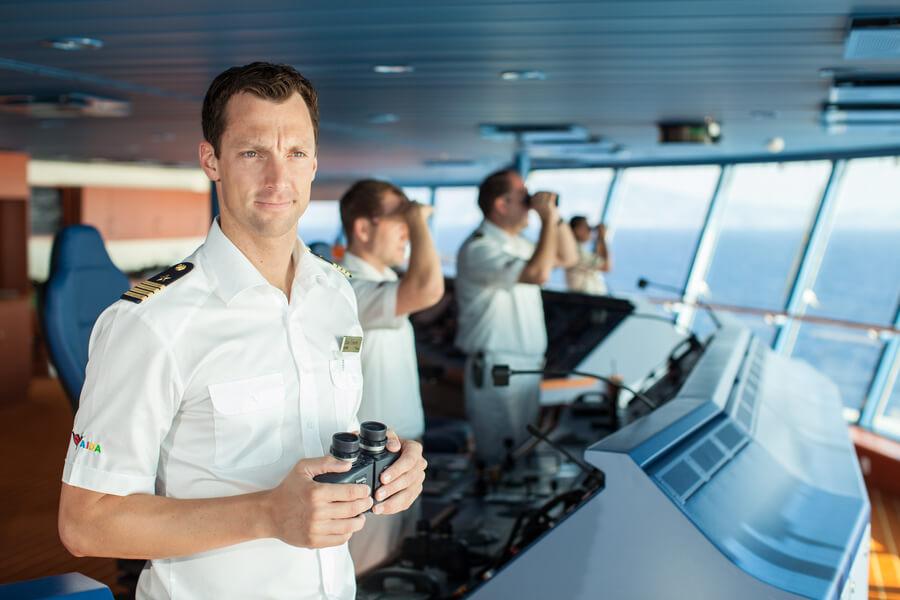 A cruise ship captain