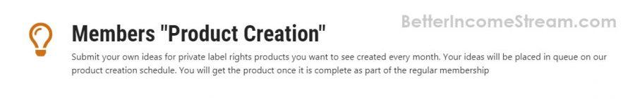 IDPLR Product Creation