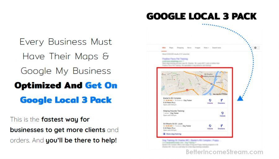 Mapify 360 Google Local 3 pack