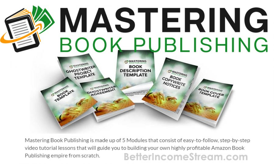 Mastering Book Publishing Made Up Of 5 Modules
