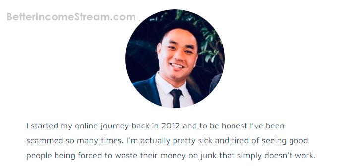 My Online Start Up Chuck Nguyen