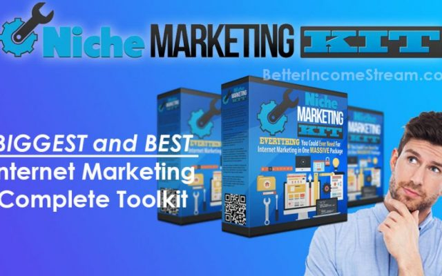 Niche Marketing Kit BIGGEST and BEST Internet Marketing Complete Toolkit