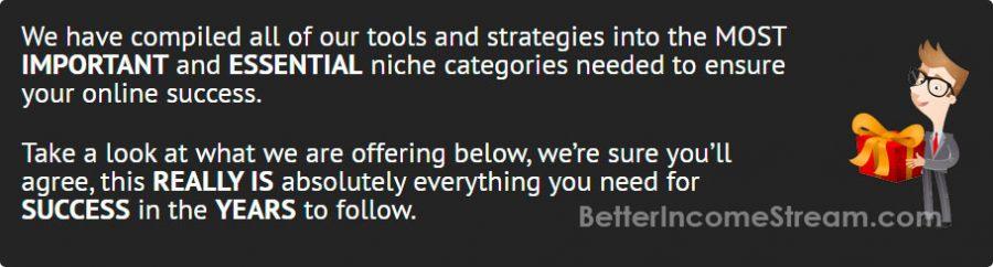 Niche Marketing Kit Most Important