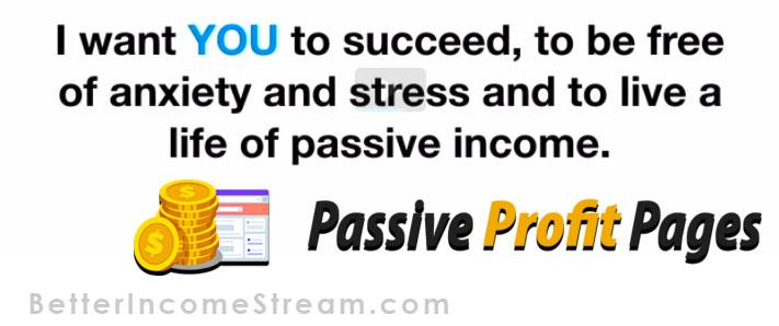 Passive Profit Pages Success