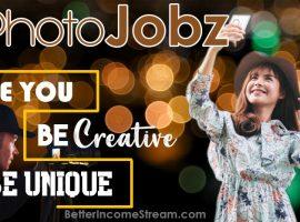 Photojobz be you be creative