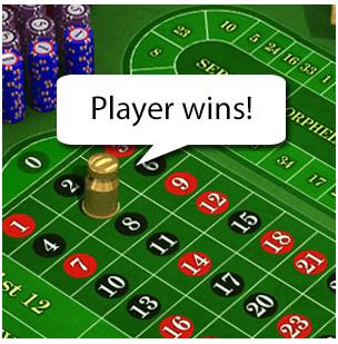 Player wins