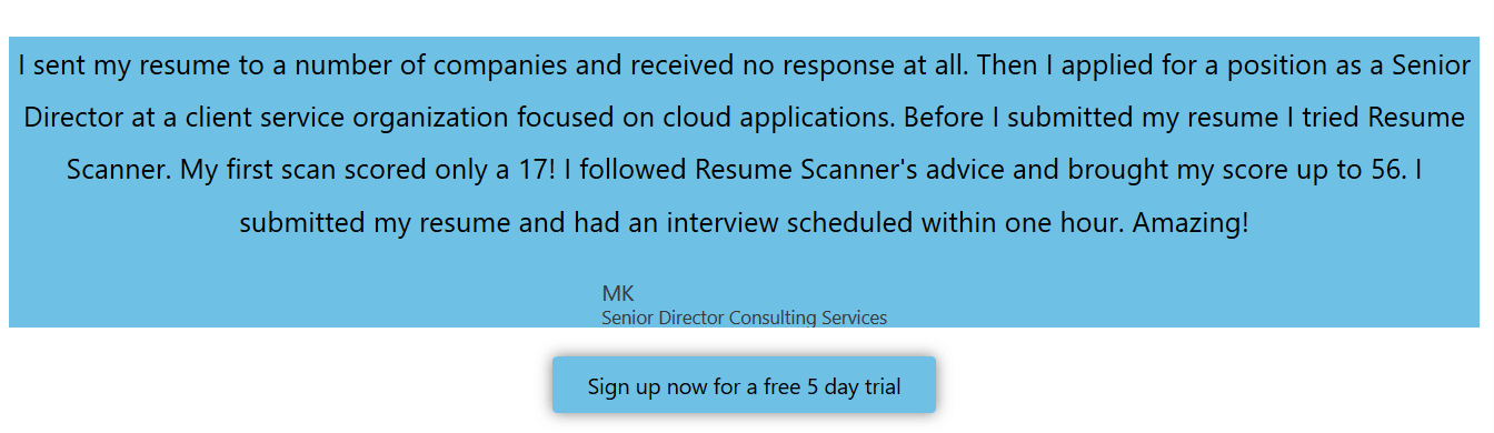 ResumeScanner Review: Match Job Keywords For A Better Resume?
