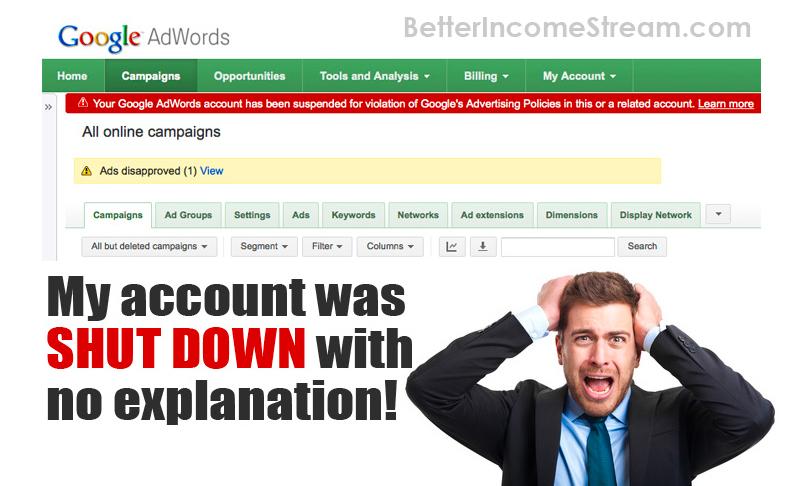 Simple Traffic Solution Account Shutdown