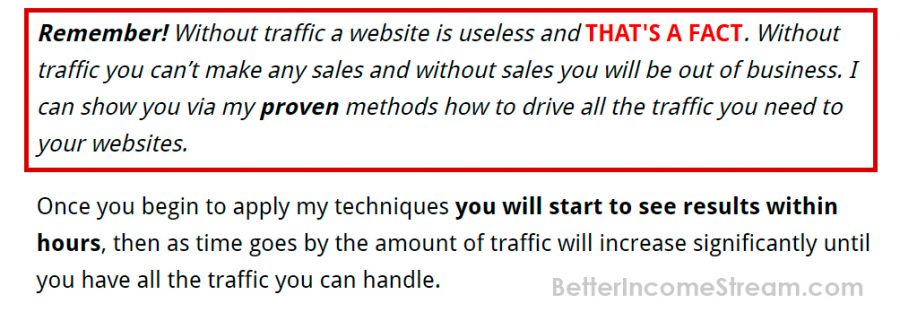 Simple Traffic Solution Start to see Results