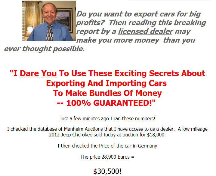The Beginners Guide To Importing Exporting Automobiles Review