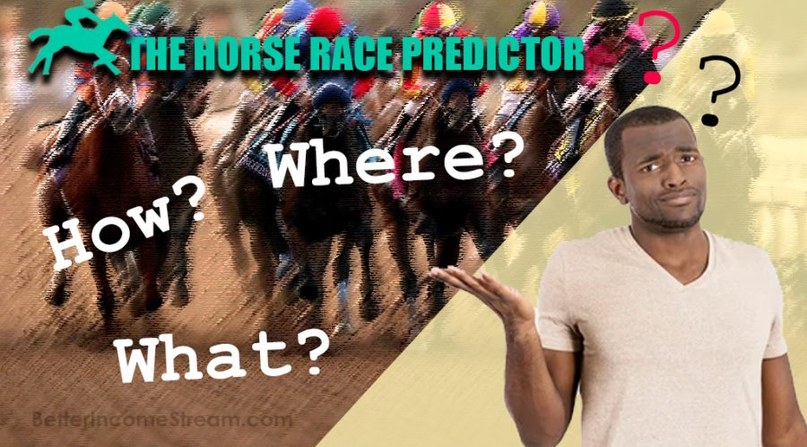 The Horse Race Predictor How does the Horse Race predictor work