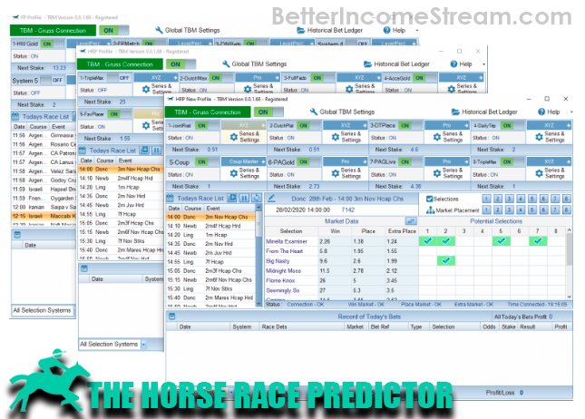 The Horse Race Predictor What you get from the system far outweighs what you will pay
