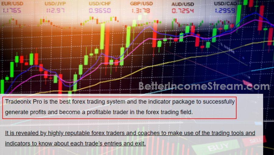 Tradeonix Pro Best Forex Trading System