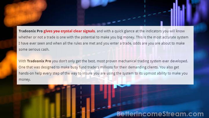 Tradeonix Pro Crystal Clear Signals