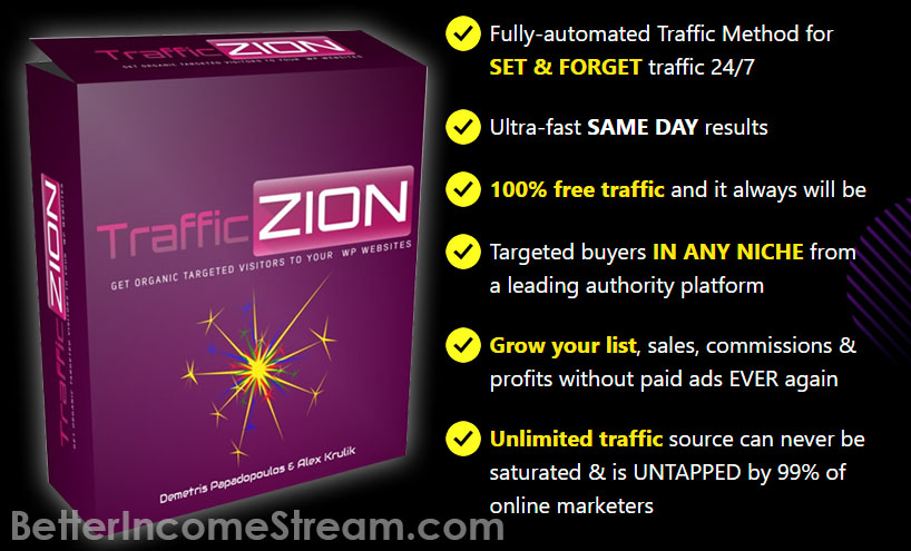 Trafficzion Fully overview of the product