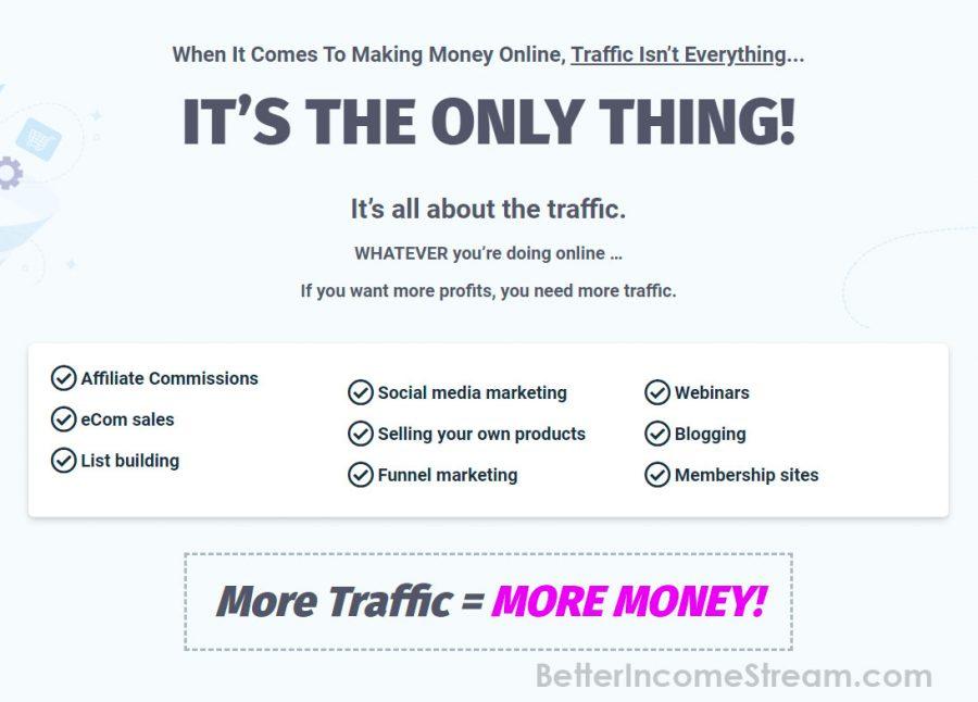 Trafficzion More traffic More money