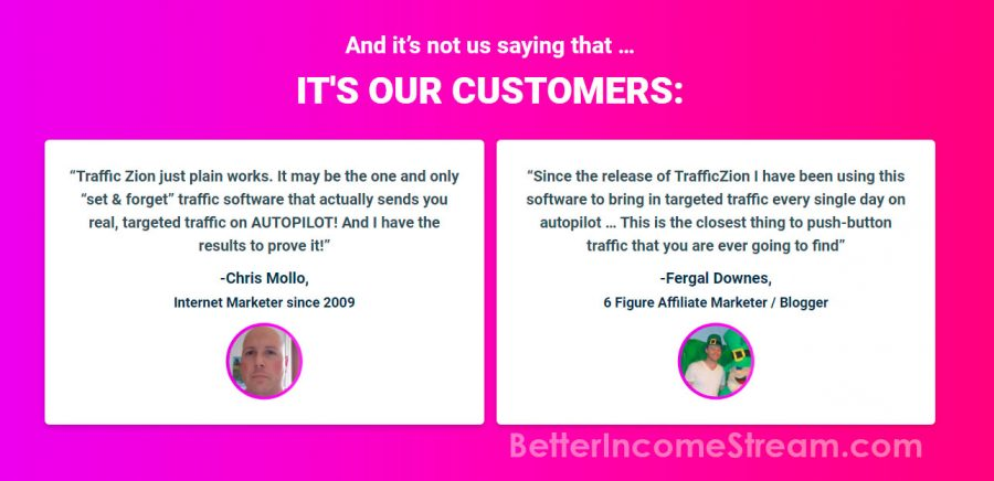 TrafficZion Our customers