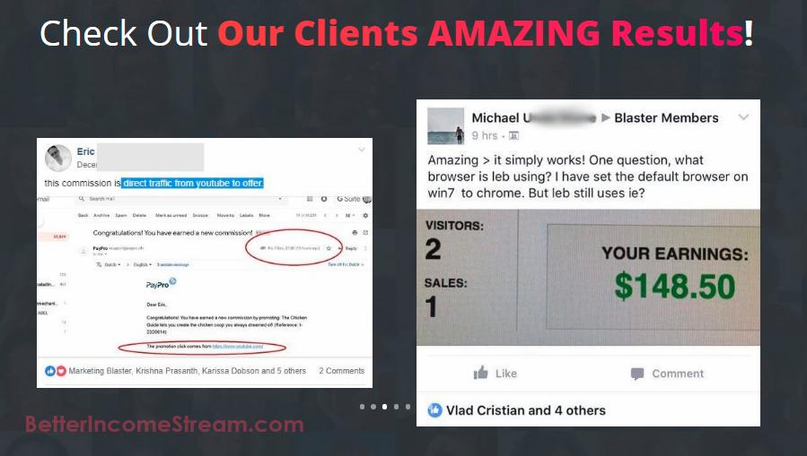 Video Marketing Blaster Clients