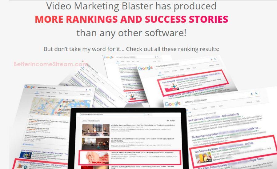 Video Marketing Blaster More rankings