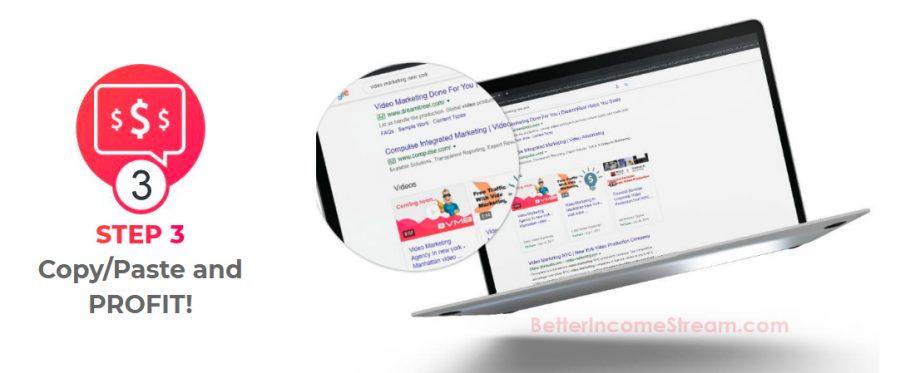 Video Marketing Blaster step3