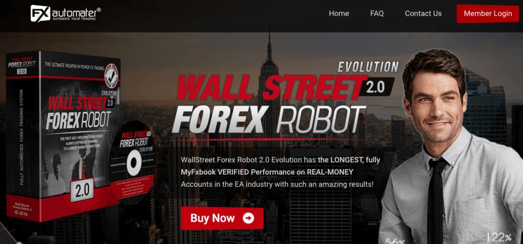 Website of Wallstreet forex trading