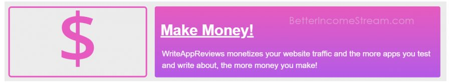 WriteAppsReviews affiliate money