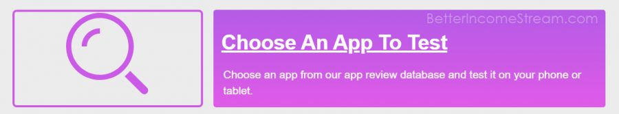 WriteAppsReviews choose an app to use