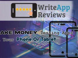 WriteApps Make money using the App