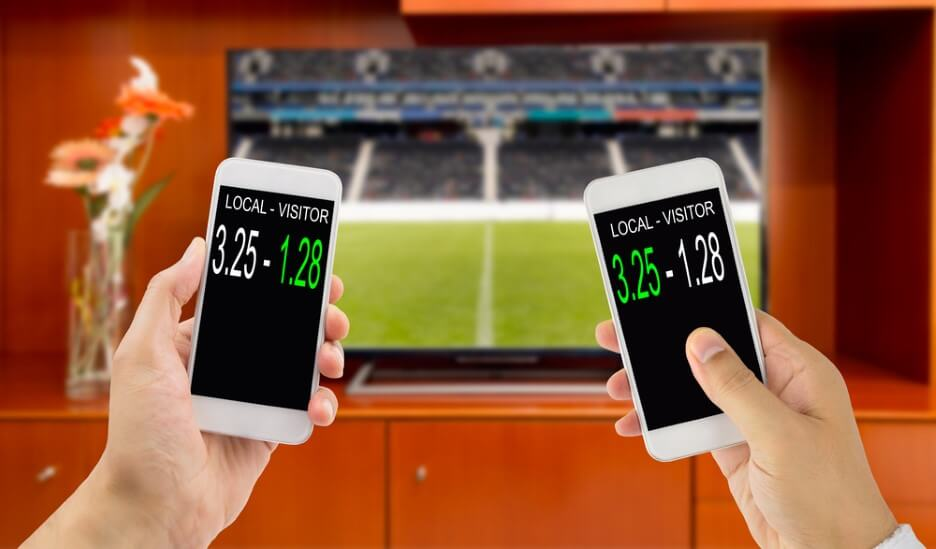 betting during a football