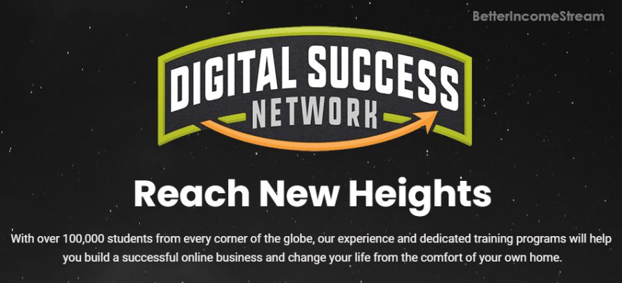 Digital Success Network with many students