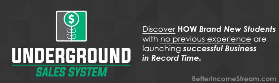 Digital Success Network Underground sales system