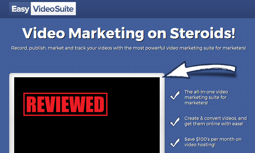 Enjoy video marketing with Easy Video Suite