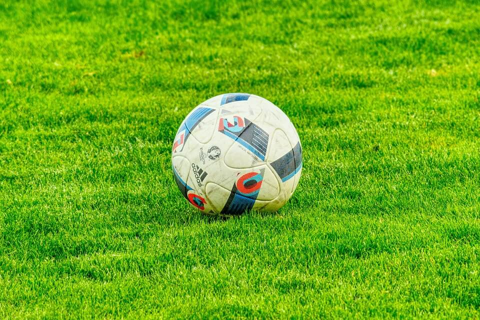 ball in a field