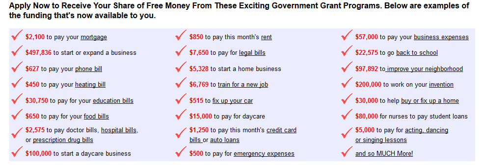 FederalPundingProgram Screenshot