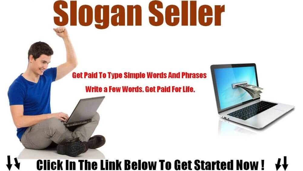 A platform for making money by selling creative slogans